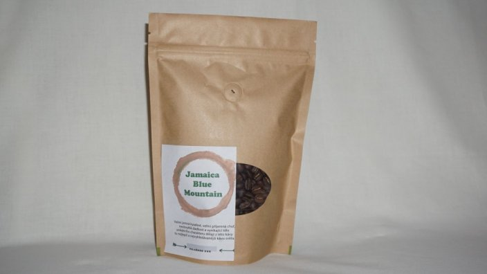 Jamaica Blue Mountain 100% Arabica - Hrubost mletí: do džezvy, Gramáž: 50 g